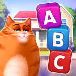 🔥Kitty Scramble: Word Stacks  1.220.3 (MOD Unlimited Money)