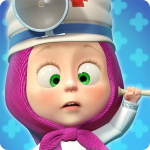Masha and the Bear: Free Animal Games for Kids  4.0.6 (MOD Unlimited Money)