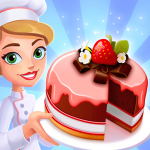 [APK] Merge Bakery –  Idle Dessert Tycoon Clicker Game 1.3.1_221 (MOD Unlimited Money)