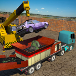 [APK] Monster Car Crusher Crane 2019: City Garbage Truck 1.5 (MOD Unlimited Money)