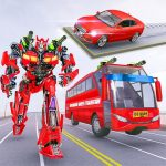 [APK] Muscle car robot game – Bus robot transform games 1.3 (MOD Unlimited Money)