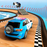 [APK] Police Prado Car Stunt Racing- Ramp Car Stunts 3D 2.1 (MOD Unlimited Money)