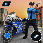 [APK] US Police Bike Chase 2020 4.9  (MOD Unlimited Money)