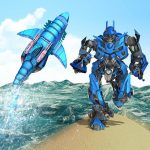 [APK] Warrior Robot Shark– Shark Robot Transformation 1.8 (MOD Unlimited Money)