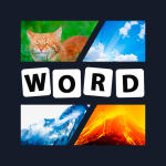 [APK] 4 pics 1 word New 2020 – Guess the word! 5.0.1  (MOD Unlimited Money)
