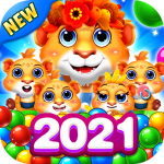 Bubble Shooter 2 Tiger  1.0.56 (MOD Unlimited Money)