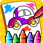[APK] Cars Coloring Book for Kids – Doodle, Paint & Draw 2.4 (MOD Unlimited Money)