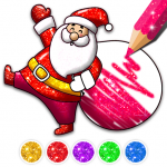 [APK] Christmas Coloring Game – Learn Colors 4.2 (MOD Unlimited Money)