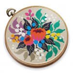 Cross Stitch Club — Color by Numbers with a Hoop  1.4.32 (MOD Unlimited Money)