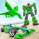 Dragon Robot Car Game – Robot transforming games  1.3.9 (MOD Unlimited Money)