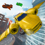 [APK] Flying Car Driving 2020 – Real Driving Simulator 1.5 (MOD Unlimited Money)