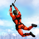 [APK] Flying Ninja Rope Hero: Light Speed Ninja Rescue 2.0 (MOD Unlimited Money)