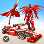 [APK] Formula Car Robot Transform – Flying Dragon Robot 1.8 (MOD Unlimited Money)