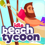 Idle Beach Tycoon Cash Manager Simulator  1.0.24 (MOD Unlimited Money)