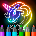 [APK] Learn to Draw Glow Cartoon 1.0.19 (MOD Unlimited Money)