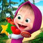 [APK] Masha and the Bear: Running Games for Kids 3D 1.1 (MOD Unlimited Money)