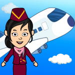 [APK] My Airport Town: Kids City Airplane Games for Free 1.5 (MOD Unlimited Money)