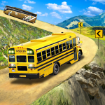 [APK] Offroad School Bus Driving: Flying Bus Games 1.39 (MOD Unlimited Money)