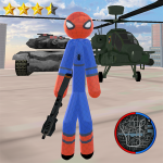 [APK] Stickman Spider Rope Hero Gangstar Crime 1.2 (MOD Unlimited Money)