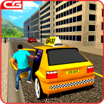 [APK] Taxi Driving Games Mountain Taxi Driver 2018 1.6 (MOD Unlimited Money)