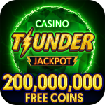 [APK] Thunder Jackpot Slots Casino – Free Slot Games 2.9  (MOD Unlimited Money)