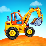 Truck games for kids – build a house, car wash  6.3.0 (MOD Unlimited Money)
