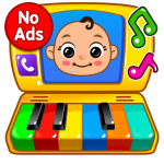 Baby Games Piano, Baby Phone, First Words  1.2.7 (MOD Unlimited Money)