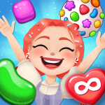 [APK] Candy Go Round – #1 Free Candy Puzzle Match 3 Game 1.5.1 (MOD Unlimited Money)