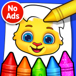 [APK] Coloring Games: Coloring Book, Painting, Glow Draw 1.0.7 (MOD Unlimited Money)