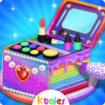 [APK] Cosmetic Box Cake and Cookie Maker Girls cooking  (MOD Unlimited Money)