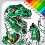 [APK] Dino Robots Coloring Book for Boys  (MOD Unlimited Money)