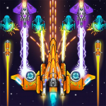 [APK] Galaxy Attack Space Shooter: Spaceship Games 1.4 (MOD Unlimited Money)