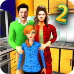[APK] Happy Family Life Dad Mom – Virtual Housewife 2 1.1 (MOD Unlimited Money)