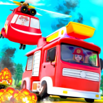 [APK] Kids Firefighter: Fire Rescue And Car Wash Garage 1.0.4 (MOD Unlimited Money)