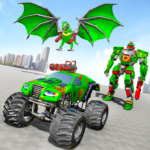 Monster Truck Robot Wars – New Dragon Robot Game  1.1.5 (MOD Unlimited Money)