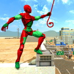[APK] Mutant Spider Rope Hero : Flying Robot Hro Game 1 (MOD Unlimited Money)