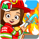 [APK] My Town : Fire station Rescue Free 1.02 (MOD Unlimited Money)