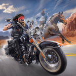 Outlaw Riders War of Bikers  0.2.8 (MOD Unlimited Money)