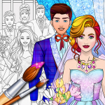 [APK] Wedding Coloring Dress Up – Games for Girls 1 (MOD Unlimited Money)