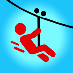 [APK] Zipline Valley – Physics Puzzle Game 1.9.3  (MOD Unlimited Money)