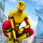 [APK] Amazing Spider Hero: Ninja Stickman Rope Hero 3D 1.0 (MOD Unlimited Money)