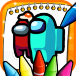 [APK] Among Us Coloring Book 2 (MOD Unlimited Money)