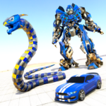 Anaconda Robot Car Games: Mega Robot Games  2.0 (MOD Unlimited Money)