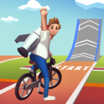 Bike Hop Crazy BMX Bike Jump 3D  1.0.68 (MOD Unlimited Money)