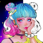 Sweet Coloring Color by Number Painting Game  1.0.19 (MOD Unlimited Money)