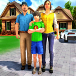 [APK] Happy Family Life Dad Mom – Virtual Housewife Care 1.1 (MOD Unlimited Money)
