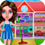 [APK] House Cleanup : Girl Home Cleaning Games 3.9.1 (MOD Unlimited Money)