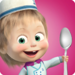 Masha and Bear: Cooking Dash  1.3.9 (MOD Unlimited Money)