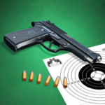 Pistol shooting at the target. Weapon simulator  4.8 (MOD Unlimited Money)