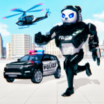 [APK] Police Panda Robot Car Transform: Flying Car Games 1.2.0.1 (MOD Unlimited Money)